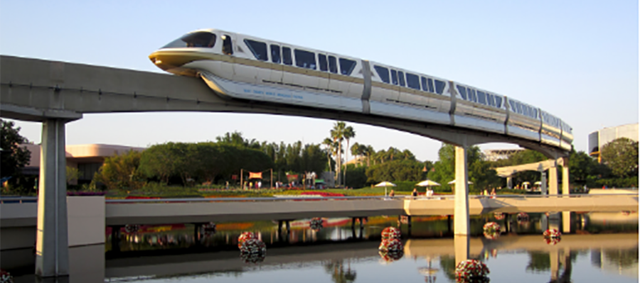 Disney monorails are part of fantastic family vacations to Orlando